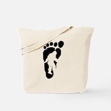 Bigfoot print Tote Bag