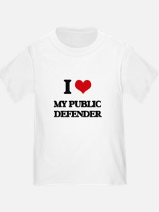 I Love My Public Defender T-Shirt