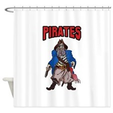 PIRATES MASCOT Shower Curtain