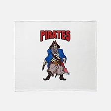 PIRATES MASCOT Throw Blanket