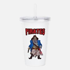 PIRATES MASCOT Acrylic Double-wall Tumbler