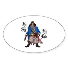 MY SHIP MY RULES Decal