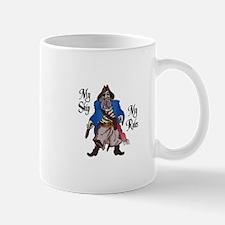 MY SHIP MY RULES Mugs
