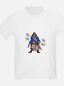 MY SHIP MY RULES T-Shirt