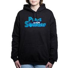 Plays with Squirrels Women's Hooded Sweatshirt