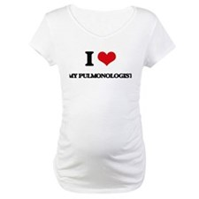I Love My Pulmonologist Shirt