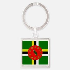 The Commonwealth of Dominica flag Keychains