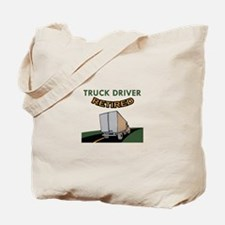 TRUCK DRIVER RETIRED Tote Bag