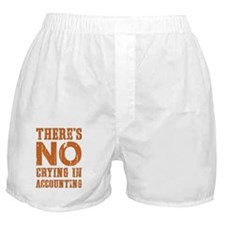 No Crying Boxer Shorts