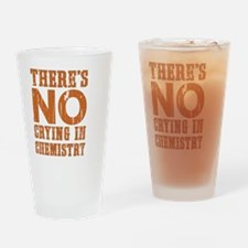 No Crying Drinking Glass