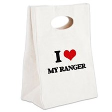I Love My Ranger Canvas Lunch Tote