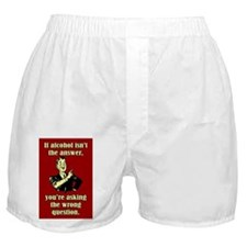 THE WRONG QUESTIONS Boxer Shorts