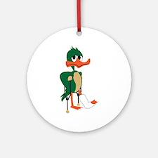 Lame Duck Ornament (Round)