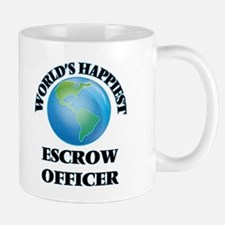 World's Happiest Escrow Officer Mugs