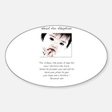Adoption Design Asian Baby.jpg Decal