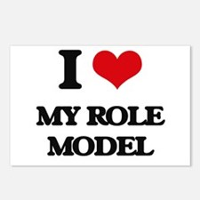 I Love My Role Model Postcards (Package of 8)