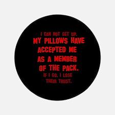 """Pillow Pack 3.5"""" Button"""