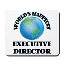 World's Happiest Executive Director Mousepad
