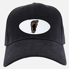 Bigfoot print b2 Baseball Hat