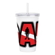 father206light.png Acrylic Double-wall Tumbler