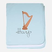 Harp baby blanket