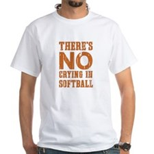 No Crying in Softball T-Shirt