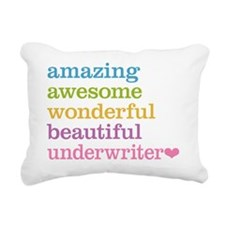 Underwriter Rectangular Canvas Pillow