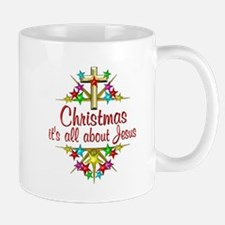 Christmas About Jesus Mug