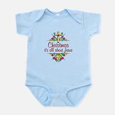 Christmas About Jesus Infant Bodysuit