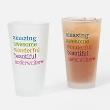 Underwriter Drinking Glass