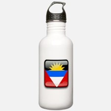 Flag of Antigua and Ba Water Bottle