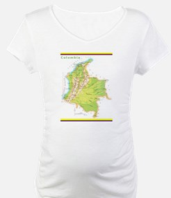Colombia Green map Shirt