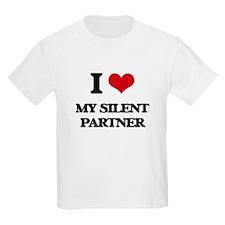 I Love My Silent Partner T-Shirt
