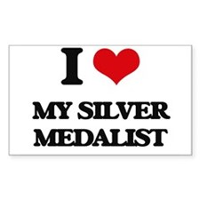 I Love My Silver Medalist Decal