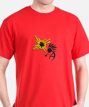 KOKOPELLI AND SUN T-Shirt