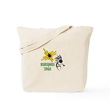 KOKOPELLI TRAIL Tote Bag