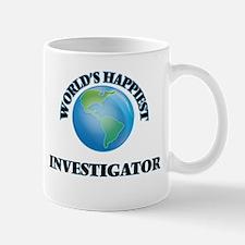 World's Happiest Investigator Mugs