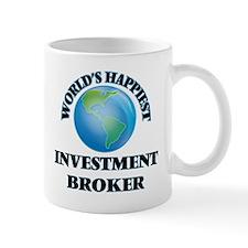 World's Happiest Investment Broker Mug