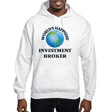 World's Happiest Investment Brok Hoodie
