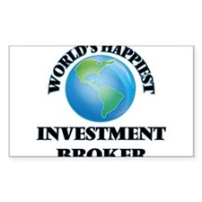 World's Happiest Investment Broker Decal