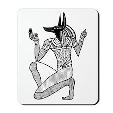 Anubis - Eqyptian Diety Mousepad