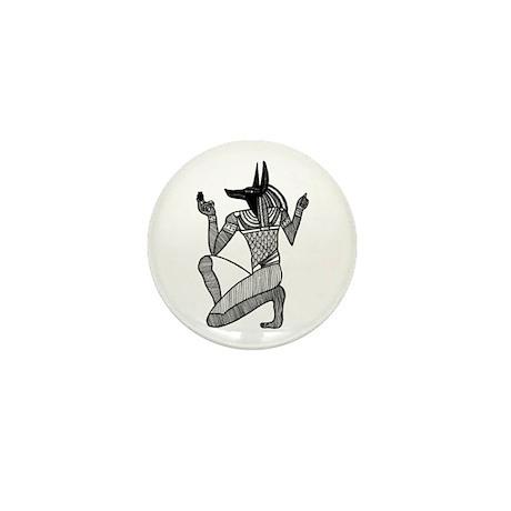 Anubis - Eqyptian Diety Mini Button (100 pack)