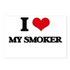 I love My Smoker Postcards (Package of 8)