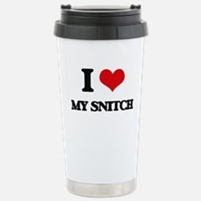I love My Snitch Travel Mug