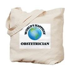 World's Happiest Obstetrician Tote Bag