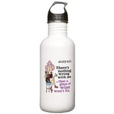 Aunty Acid: Glass of W Water Bottle
