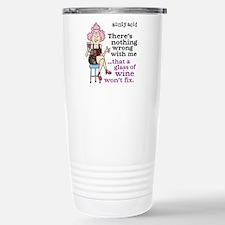 Aunty Acid: Glass of Wi Travel Mug