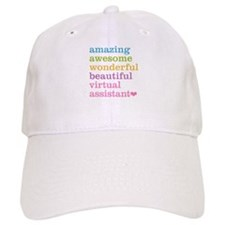 Virtual Assistant Baseball Baseball Cap