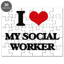 I love My Social Worker Puzzle