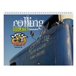 Rolling Door Art Wall Calendar
